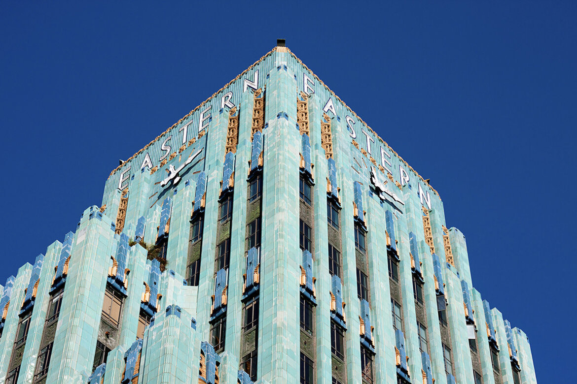 Eastern Columbia Building in downtown Los Angeles