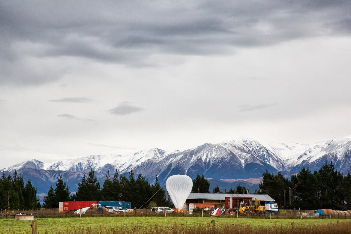 Google's Project Loon pre-launch