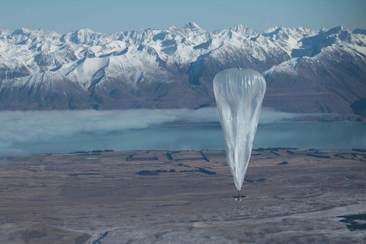 Google's Project Loon launch