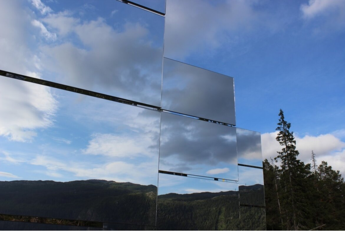 Mirrors to provide sun to dark Norwegian town of Rjukan