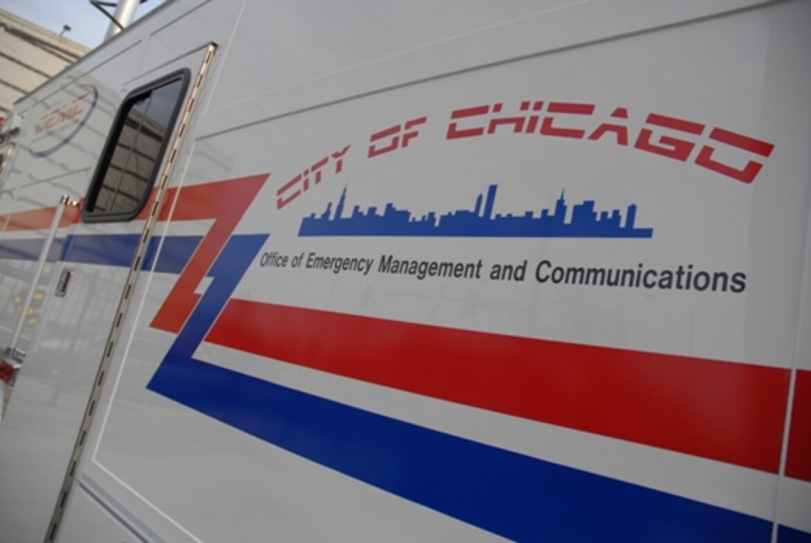 The Chicago Office of Emergency Management and Communications' Unified Command Vehicle