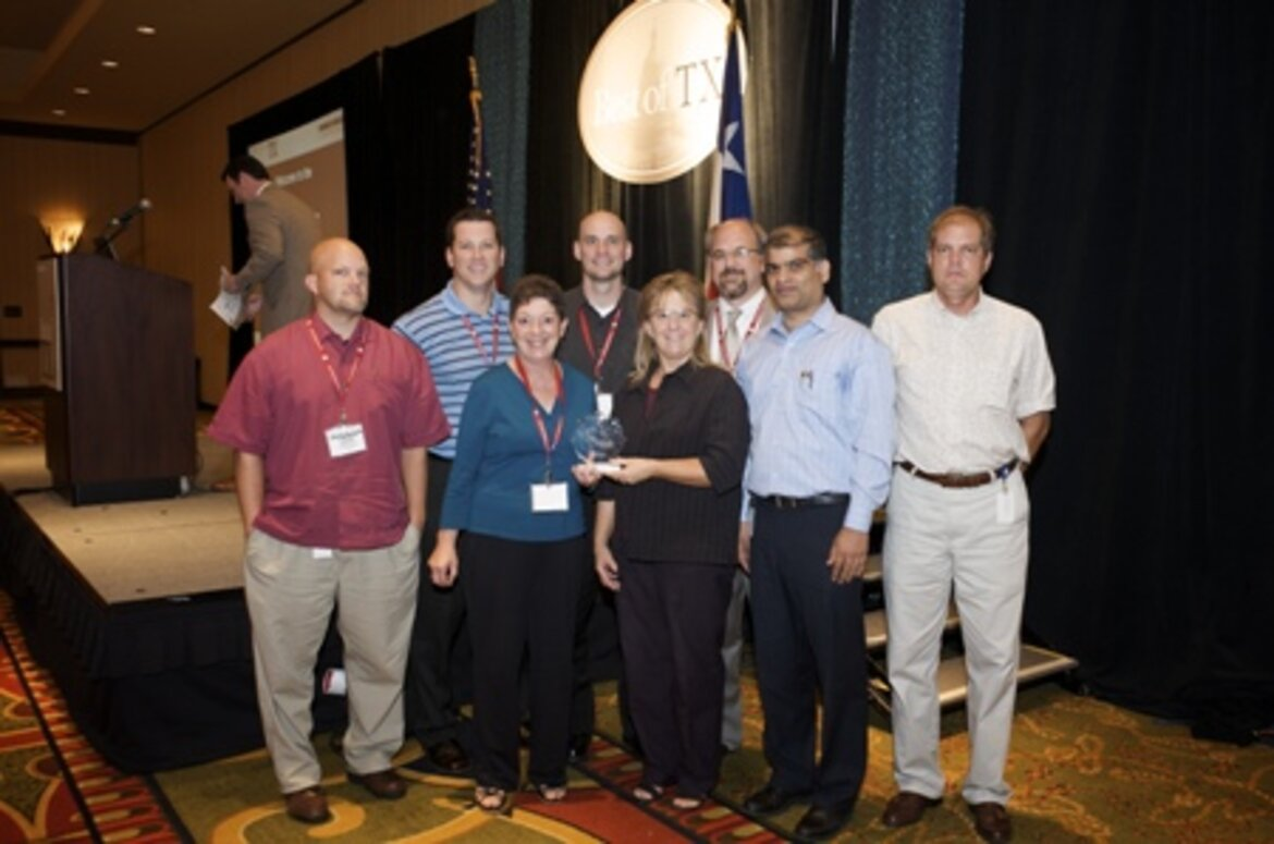 Project Team from Texas Department of Transportation