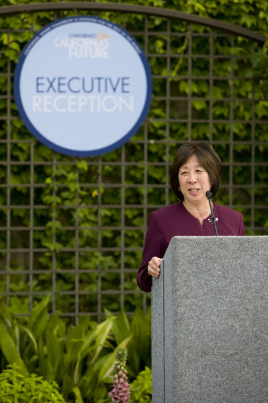 State CIO, Teri Takai hosting the Vision and Innovation Awards Ceremony