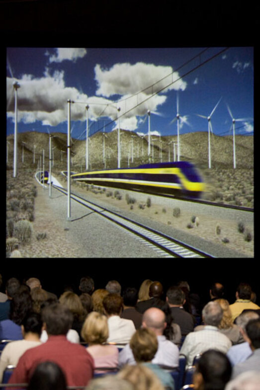 Exciting High Speed Rail featured at the Conference