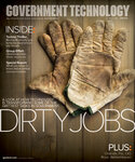 dirty work gloves