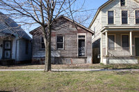 Abandoned Detroit house