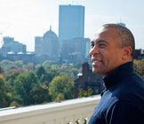 Massachusetts Governor Deval Patrick.