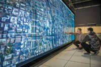 tiled display wall at Argonne National Laboratory
