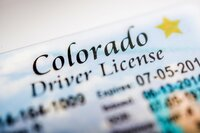Colorado driver's license