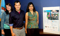 Lindsey Culin, Greg Licamele and Anita Rao worked on the home page redesign for Fairfax County Virginia