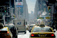 Traffic in New York City