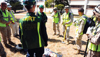 Community Emergency Response Team (CERT) in Monterey, California