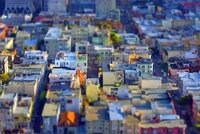 San Francisco Morning HDR Tilt Shift Miniature