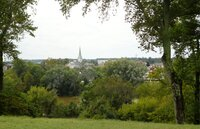 The Town of Fredericksburg, Virginia as viewed from Chatham