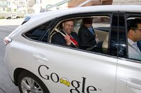 Texas DOT Executive Director in Google Car