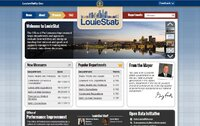 LouieStat Homepage