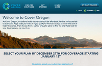 cover oregon, oregon health exchange, health exchange