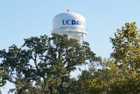 University of California, Davis water tower
