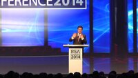 Comedian Stephen Colbert at RSA 2014