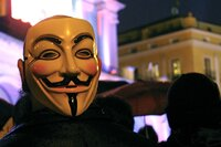 Anonymous, Nov. 5, hacktivists