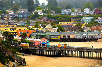 Capitola Beach, Santa Cruz County, Calif.