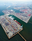 Aerial View, Port of Long Beach, Calif./Photo courtesy of James R. Tourtellotte/U.S. Customs and Border Protection