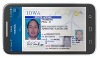 Iowa's mobile driver's license