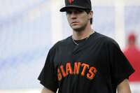 San Francisco Giants pitcher Barry Zito