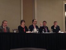 Panelists at Redefining Mobility Summit in Concord, Calif.