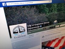 Evanston, ill., Facebook page shows verified checkmark