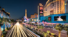 Las Vegas strip HDR