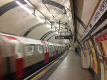 London Underground rail system