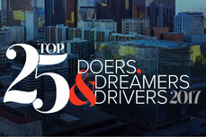Top 25 Doers, Dreamers and Drivers 2017