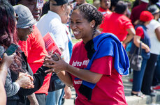 Andrea Campbell, Boston's District 4 City Council member