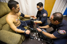 City of Roseville, Calif., ECG equipment