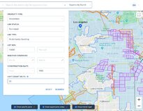 A screenshot of idevelop.city's digitized zoning code for Los Angeles.