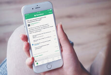Nextdoor phone app