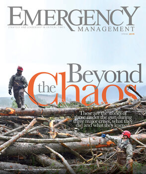 Emergency Management Spring 2015 cover