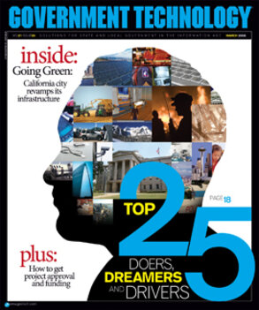 Top 25 Doers, Dreamers and Drivers collage