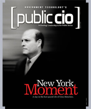 Gino Menchini, CIO, New York City