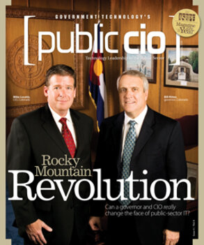 Colorado CIO Mike Locatis, Gov. Bill Ritter
