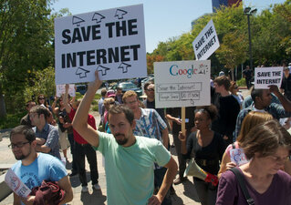 Net neutrality protest 2010