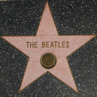 The Beatles' Walk of Fame star