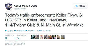 Keller PD tweet