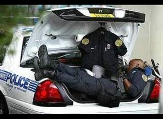tired cop