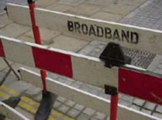 Broadband Barriers. Photo by Paul Nicholson. Creative Commons Attribution-Noncommercial 2.0 Generic