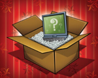 Mystery Laptops/Illustration by Tom McKeith