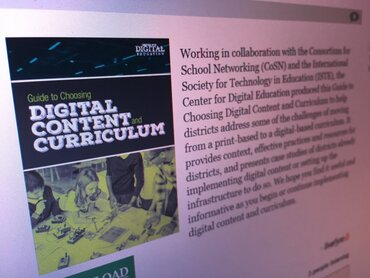 Digital Content and Curriculum Guide