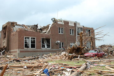 Irving Elementary School in Joplin, Mo.