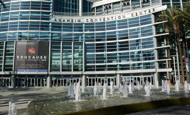 Educause annual conference at the Anaheim Convention Center